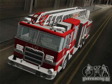 Pierce Arrow LAFD Ladder 43 для GTA San Andreas салон