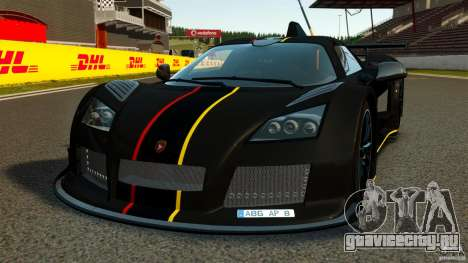 Gumpert Apollo Enraged 2012 для GTA 4