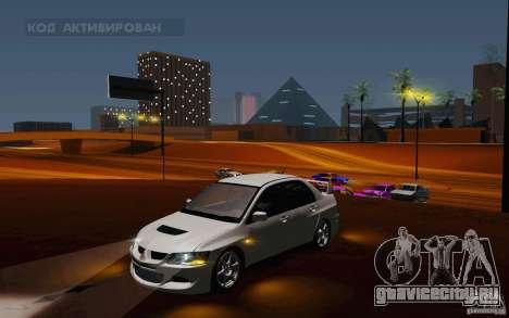 Mitsubishi Lancer Evo VIII GSR для GTA San Andreas
