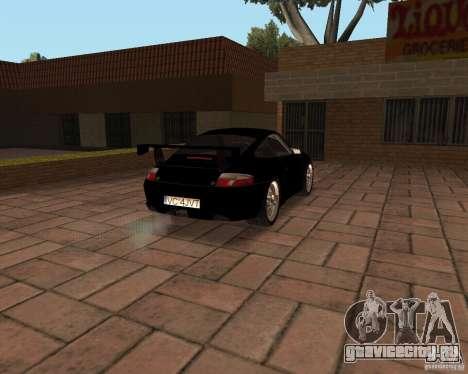 Porsche 911 GT3 RS для GTA San Andreas двигатель