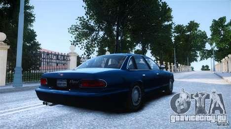 Civilian Taxi - Police - Noose Cruiser для GTA 4 вид слева