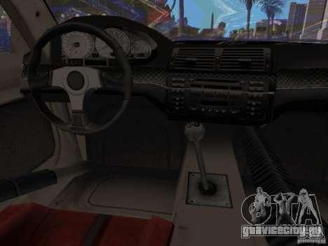 BMW M3 GTR из NFS Most Wanted для GTA San Andreas вид справа