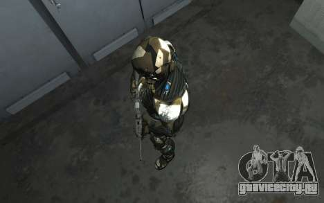 Crysis 3 The Hunter skin для GTA 4 седьмой скриншот