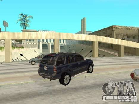 Chevrolet TrailBlazer 2003 для GTA San Andreas вид справа