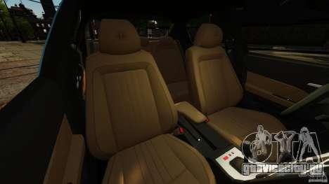 Alfa Romeo 159 TI V6 JTS для GTA 4 вид изнутри