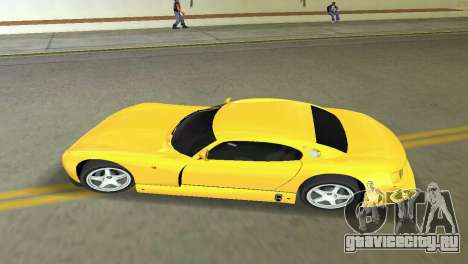 TVR Cerbera Speed 12 для GTA Vice City вид сзади слева