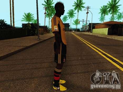 Марио Балотелли v3 для GTA San Andreas второй скриншот