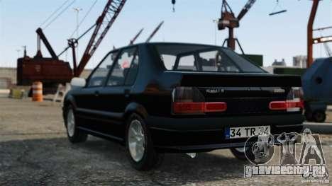Renault 19 RL для GTA 4 вид слева