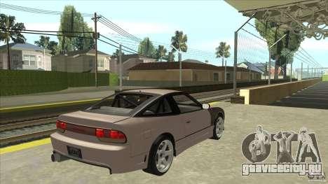 Nissan 240sx S13 JDM для GTA San Andreas вид справа