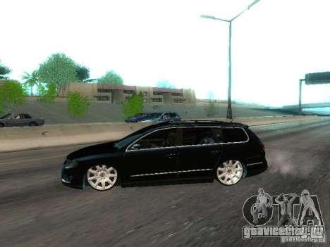 Volkswagen Passat B6 Variant Com Bentley 20 Fixa для GTA San Andreas вид слева