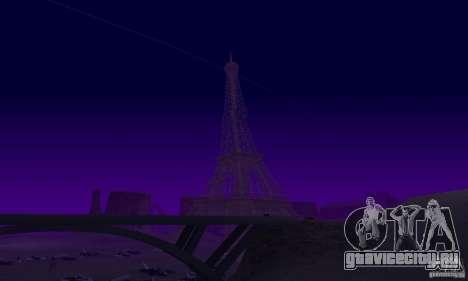 Эйфелева Башня из Call of Duty Modern Warfare 3 для GTA San Andreas пятый скриншот