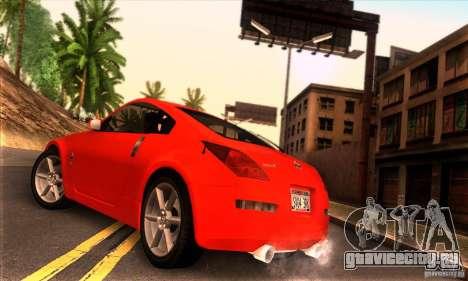 Nissan 350Z Tunable для GTA San Andreas вид слева