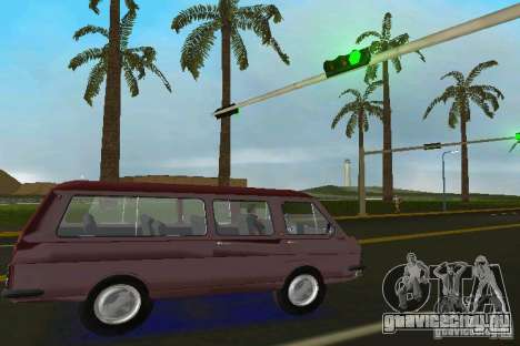 РАФ 2203 для GTA Vice City вид справа
