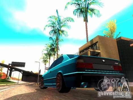 BMW 535i E34 для GTA San Andreas вид слева