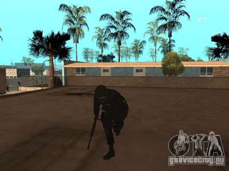 Сотрудник ФСБ для GTA San Andreas второй скриншот