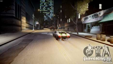 Dukes City-Drag для GTA 4 вид сверху