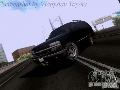 Chevrolet Tahoe 2003 SWAT для GTA San Andreas