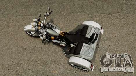 Harley-Davidson Trike для GTA 4 вид справа