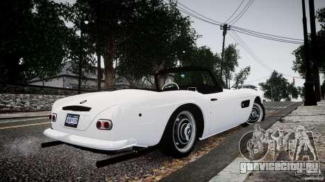 BMW 507 1959 для GTA 4 вид слева