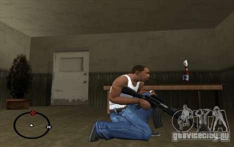 АК-103 для GTA San Andreas третий скриншот