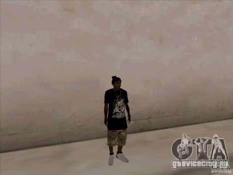 Темнокожий Парень для GTA San Andreas второй скриншот
