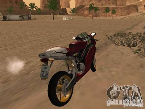 Ducati 999R для GTA San Andreas вид сзади