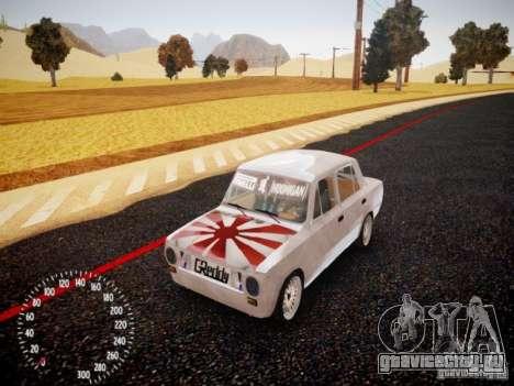 ВАЗ-2101 Drift Edition для GTA 4 вид слева