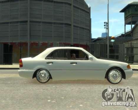 Mercedes-Benz C220 W202 для GTA 4 вид слева
