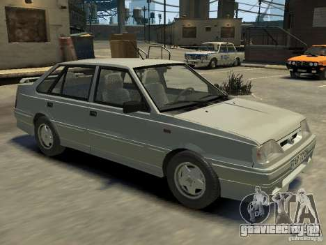 FSO Polonez Atu для GTA 4 салон