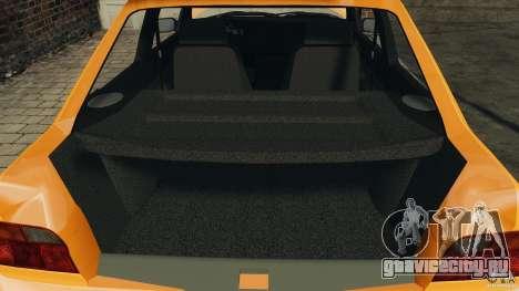 Ford Escort L 1994 Custom для GTA 4 вид сверху