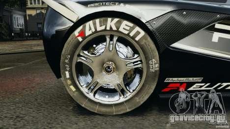 McLaren F1 ELITE Police для GTA 4 вид сзади