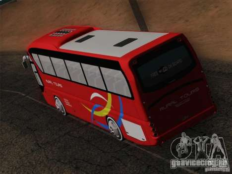 Neoplan Tourliner. Rural Tours 1502 для GTA San Andreas салон