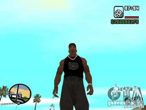 Майка Rammstein для GTA San Andreas