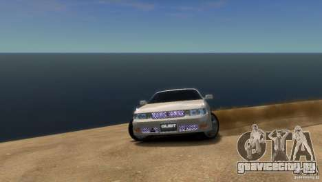 Toyota Chaser x90 для GTA 4 вид справа