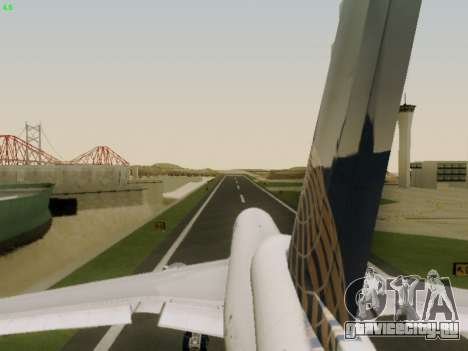 McDonell Douglas DC-10-30 Continental для GTA San Andreas вид сверху