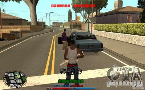 Cleo HUD by Cameron Rosewood V1.0 для GTA San Andreas пятый скриншот