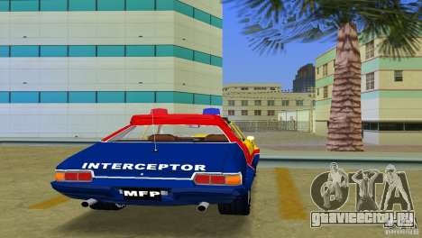 Ford Falcon 351 GT Interceptor для GTA Vice City вид сзади