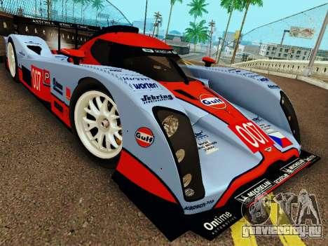 Aston Martin DBR1 Lola 007 для GTA San Andreas вид сзади слева