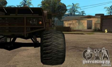 Monster Patriot для GTA San Andreas вид справа