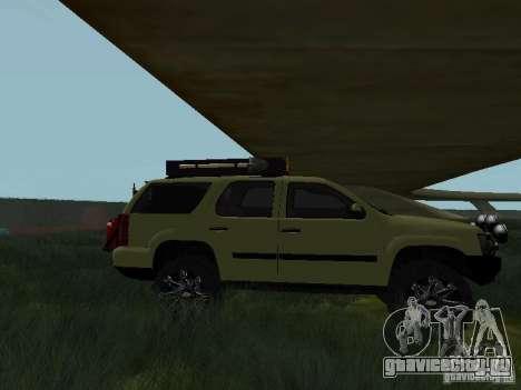 Chevrolet Tahoe Off Road для GTA San Andreas вид слева