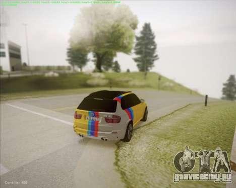 BMW X5 Smotra для GTA San Andreas вид сзади слева