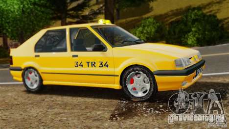 Renault 19 Такси для GTA 4 вид слева