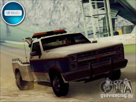 New Towtruck для GTA San Andreas вид сзади слева