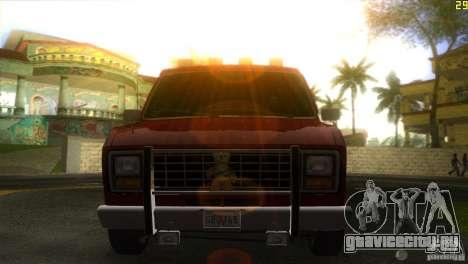 Ford E-150 Gang Burrito для GTA Vice City вид сзади слева