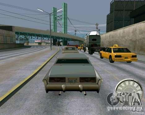 Классический спидометр Mustang для GTA San Andreas третий скриншот