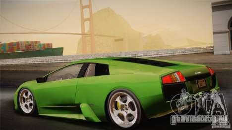 Lamborghini Murcielago 2002 v 1.0 для GTA San Andreas вид снизу