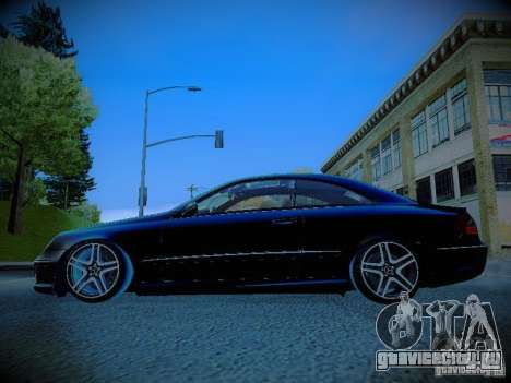 Mercedes-Benz CLK 55 AMG Coupe для GTA San Andreas вид слева