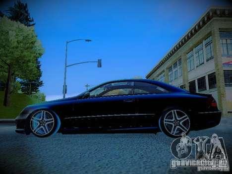 Mercedes-Benz CLK 55 AMG Coupe для GTA San Andreas вид слева