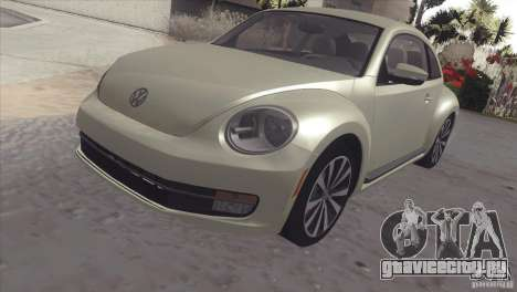 Volkswagen Beetle Turbo 2012 для GTA San Andreas