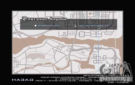 GTA V map для GTA San Andreas пятый скриншот